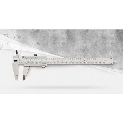 Штангенциркуль из нержавеющей стали BMI, 200 mm