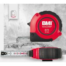 Рулетка магнитная BMI 472 twoComp, 8 m