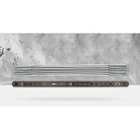 Складной метр алюминиевый 10 звеньев BMI, 2 м
