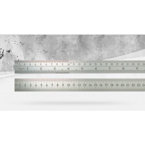 Линейка из нержавеющей стали BMI 966100040, 1000 мм