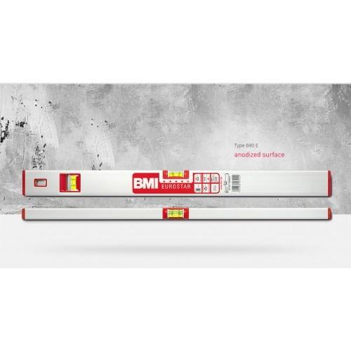 Уровень строительный BMI EuroStar, 120 см