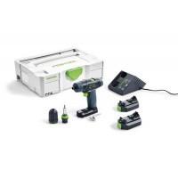 Аккумуляторная дрель-шуруповёрт TXS Li 2,6-Plus Festool 564509