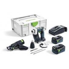 Аккумуляторный строительный шуруповёрт DWC 18-2500 Li 5,2-Plus DURADRIVE Festool 574743