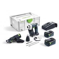 Аккумуляторный строительный шуруповёрт DWC 18-4500 Li 5,2-Plus DURADRIVE Festool 574745
