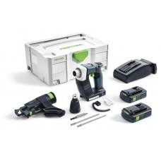 Аккумуляторный строительный шуруповёрт DWC 18-2500 Li 3,1-Compact DURADRIVE Festool 574911