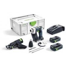 Аккумуляторный строительный шуруповёрт DWC 18-4500 Li 3,1-Compact DURADRIVE Festool 574913