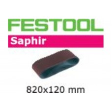 Шлифовальная лента CMB120 820x120-P100-SA/10
