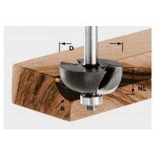 Фреза для выборки желобка HW с хвостовиком 8 мм HW S8 D31,7/R9,5 KL