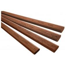 Стержень для шипов DOMINO из древесины Sipo D 12x750/22 MAU