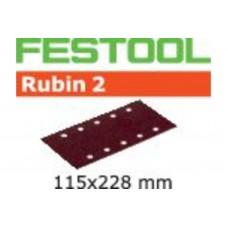 Шлифовальные листы STF 115X228 P40 RU2/50