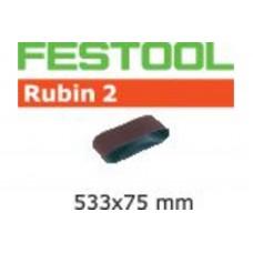 Шлифовальная лента L533X 75-P80 RU2/10