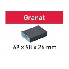 Шлифовальная губка 69x98x26 36 GR/6 Granat