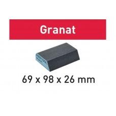Шлифовальная губка 69x98x26 120 CO GR/6 Granat