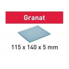 Губка шлифовальная 115x140x5 MD 280 GR/20 Granat