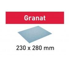 Бумага шлифовальная 230x280 P40 GR/10 Granat
