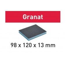 Губка шлифовальная 98x120x13 60 GR/6 Granat