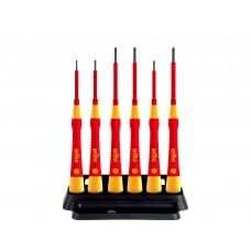 Набор диэлектр. отверток Wiha PicoFinish electric 2270P K6 42989 SL PH, 6 шт.
