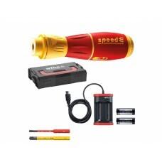 Диэлектрическая VDE отвертка speedE II electric Wiha 44318 5 пр.