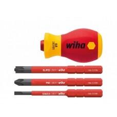 Стартовый набор инструментов Wiha SlimVario VDE 41230, 4 предмета