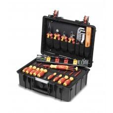 Набор VDE инструментов Basic Set L electric Wiha 44505, 18 пр. в чемодане