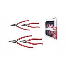 Профессиональный набор шарнирно-губцевого инструмента Wiha Classic Circlip Z 99 0 007 01 34708, 4 предмета