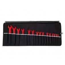 Профессиональный набор изолированных рожковых гаечных ключей Wiha 5590N T15 33179, 15 предметов
