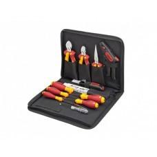 Профессиональный набор инструментов для электриков Wiha, 12 предметов